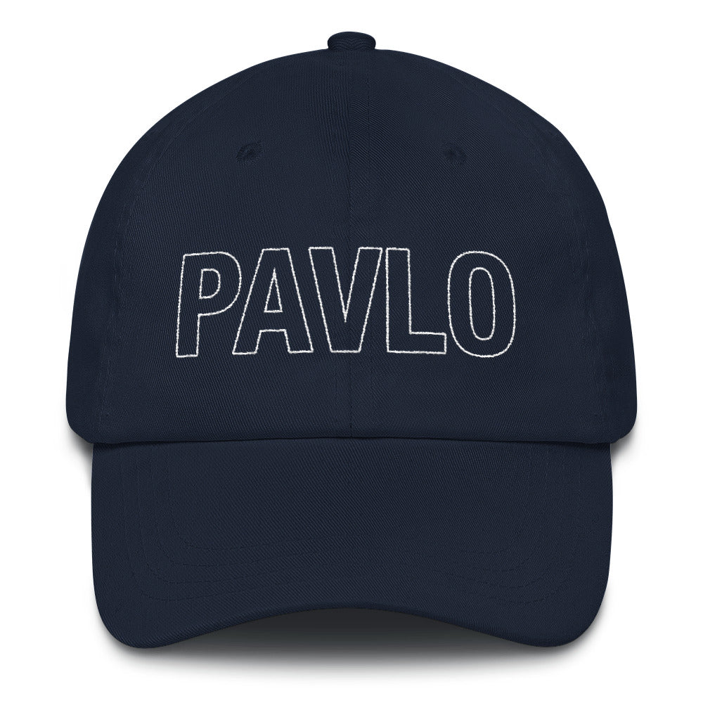 MBP Outline Dad Hat (Navy)