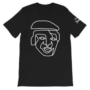 Outlined PAVLO Face (Black)