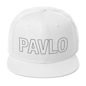 MBP Outline Snapback (White)