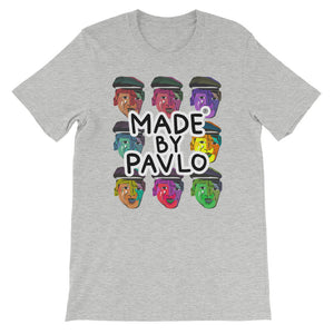 Pop Art Inspired T-Shirt (Heather Grey)