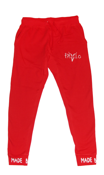 Goat Head Jogger (Red)