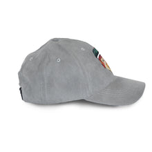 cool grey strapback hat
