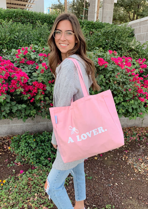 Bee A Lover Tote Bag