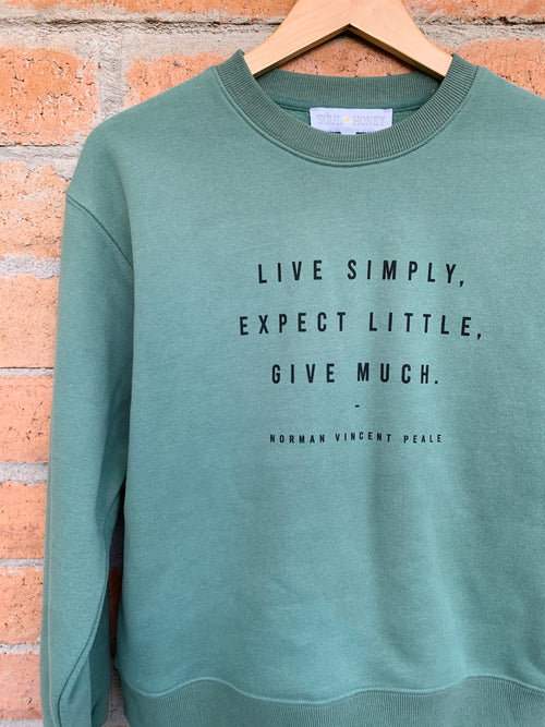 Live Simply Sweatshirt