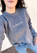 Bee Grateful Sweater