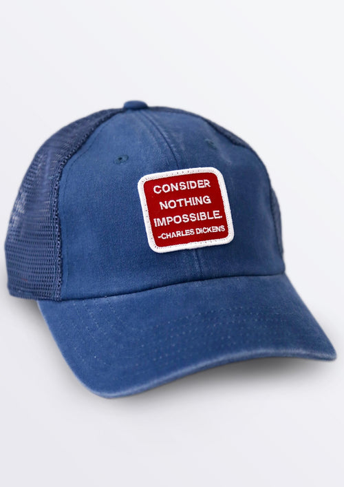 Consider Nothing Impossible Baseball Cap