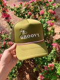 Bee Groovy Trucker Hat