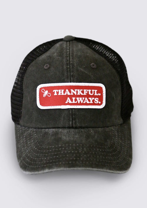 Bee Thankful Baseball Cap