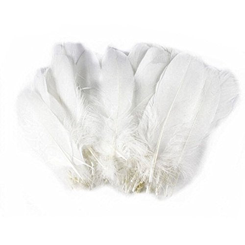 Decorative Goose Feathers for Diner en Blanc Hats, Costumes & Accessories