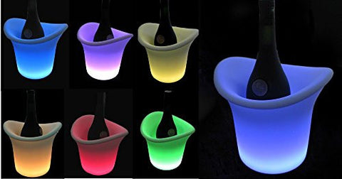 Illuminated Ice Bucket for Diner en Blanc