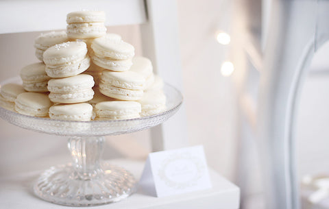 Decadent Desserts for Diner en Blanc - Marvelous Macarons