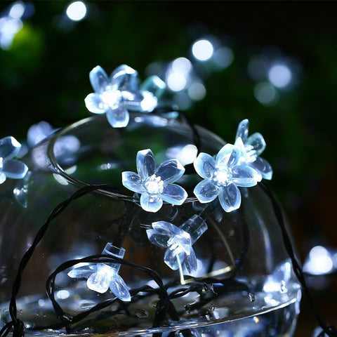 Cool White Cherry Blossom Lights for Diner en Blanc
