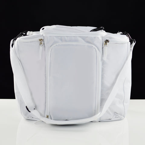 White Insulated Cooler Bag + Stacking Kit for Diner en Blanc