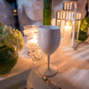 Image of White Unbreakable Plastic Wine Glass for Diner en Blanc