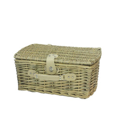 Hand-Woven Willow Picnic Basket for Diner en Blanc
