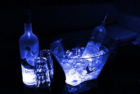 LED Bottle Light for Diner en Blanc - Blue