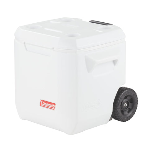 White Cooler on Wheels for Diner en Blanc