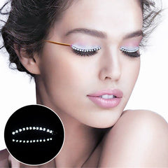 Illuminated False Lashes for Diner en Blanc