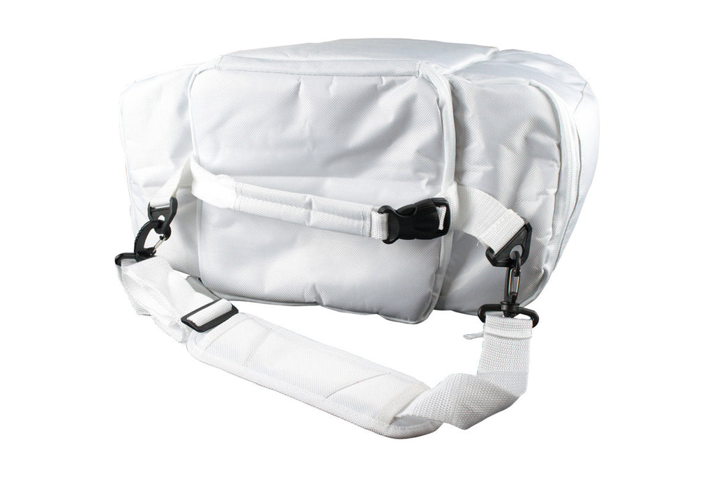 White Insulated Cooler Bag for Diner en Blanc