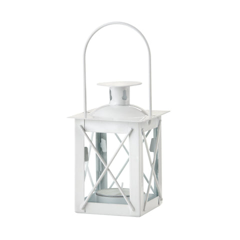 Small Candle Lantern for Diner en Blanc