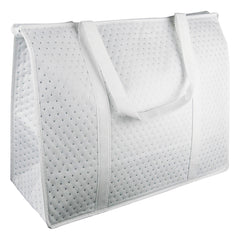 White Insulated Picnic Bag for Diner en Blanc & Bonus Tote Bag