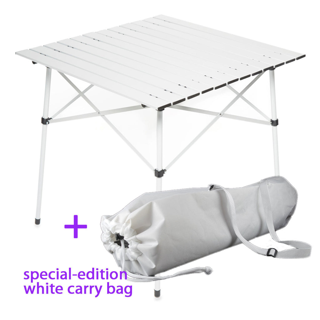 Folding Table, White Chairs & Transportation Kit for Diner en Blanc