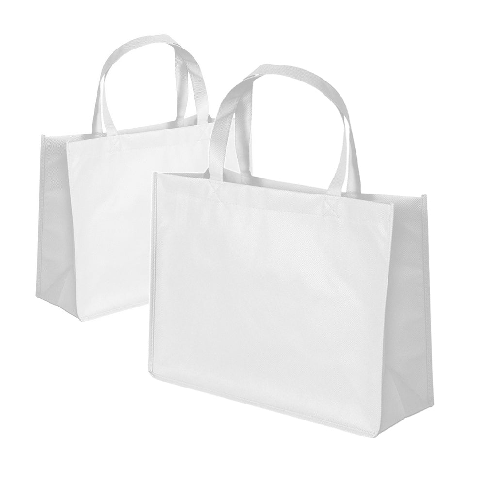 White Tote Bags for Diner en Blanc (Pack of 2)