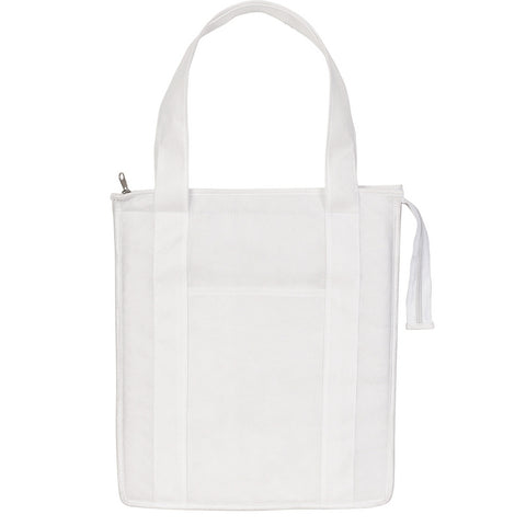 White Insulated Picnic Bag for Diner en Blanc