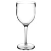 Image of Clear Unbreakable Plastic Wine Glass for Diner en Blanc