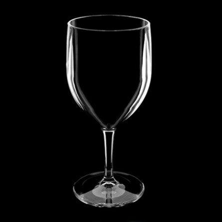 Clear Unbreakable Plastic Wine Glass for Diner en Blanc