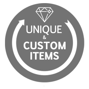 Image of Custom-Designed Products Only Available Here