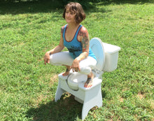 POOP STOOP Full-Squat Toilet Foot Stool