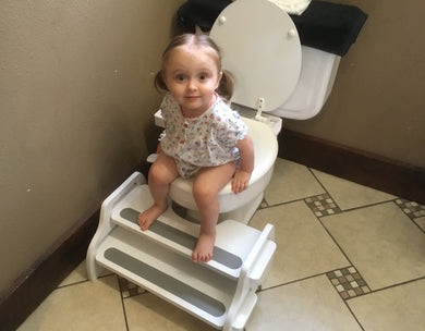 POOP STOOP Potty-Training Toilet Foot Stool