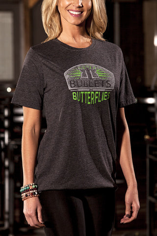 Bullets & Butterflies Electric Women's T-Shirt