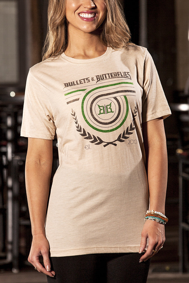 Bullets & Butterflies Looper Women's T-Shirt