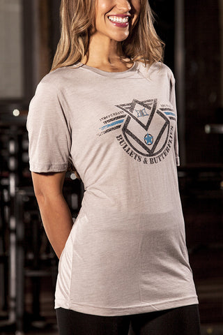 Bullets & Butterflies Squadron Women's T-Shirt