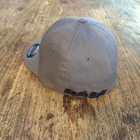 Rank Bull Cap in Charcoal with Black Logo