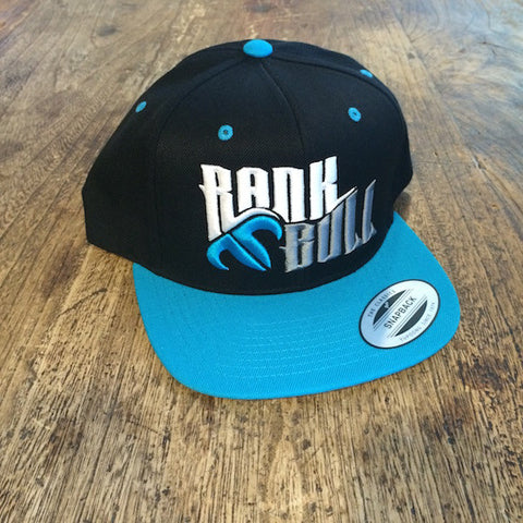 Rank Bull Teal and Black Cap