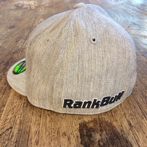 Rank Bull Cap in Heather Grey