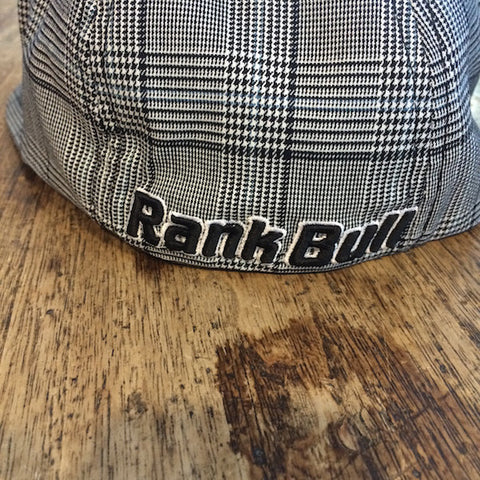 Rank Bull Glen Check Black Cap