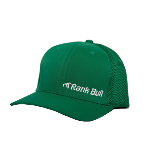 Rank Bull Mini-Corpo Flexfit Ultrafibre Cap in Green