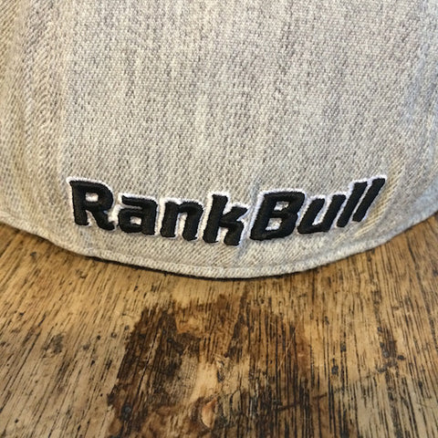 Rank Bull Icon Flexfit 210 Heather Cap