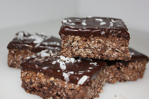 Chocolate Oaty Slice
