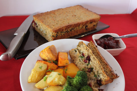 Cashew Cranberry Nut Roast