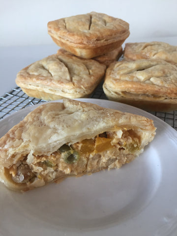 Vegetable Satay Pie