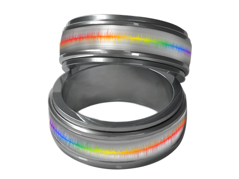 Pulse Spinner Ring