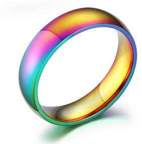 Shiny Rainbow Color Ring
