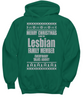 Ugly Lesbian Christmas Sweater - ULCS - On Demand