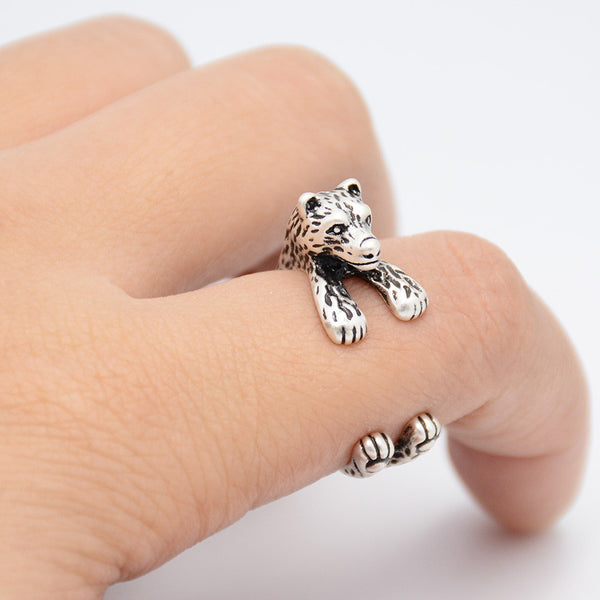 Polar Bear Wrap Ring