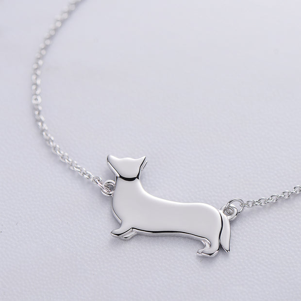 Corgi Necklace